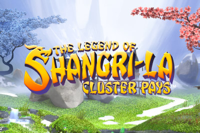 Legend Of Shangri La Cluster Pays Slot Logo