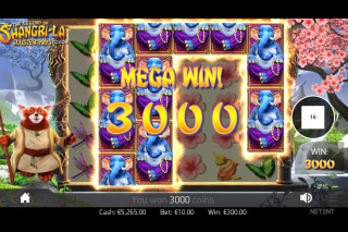 Legend Of Shangri La Cluster Pays Slot Mega Win