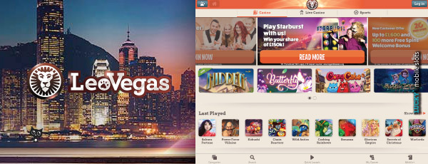 LeoVegas Mobile Casino Promotions & Games