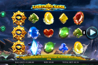 Lightning Gems Mobile Slot Machine