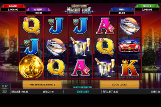 Lock It Link Night Life Mobile Slot Game
