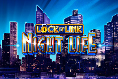 Lock It Link Night Life Mobile Slot Logo