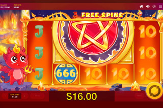 Lucky Little Devil Mobile Slot Free Spins
