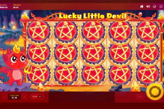 Lucky Little Devil Mobile Slot Reel Win
