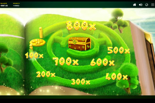 Lucky Wizard Mobile Slot Multiplier Trail Bonus
