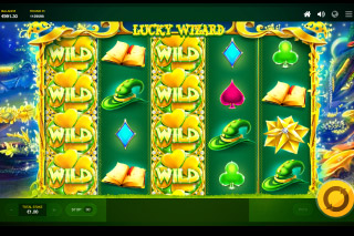 Lucky Wizard Mobile Slot Stacked Wilds