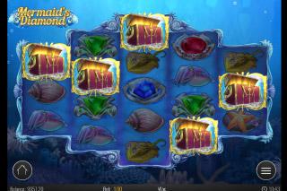 Mermaids Diamond Mobile Slot Bonus Picker