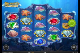Mermaids Diamond Mobile Slot Machine