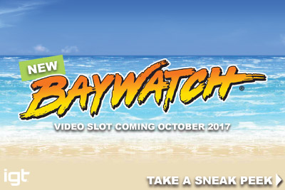 Take A Sneak Peek At The New IGT Baywatch Slot Game