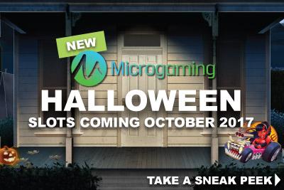 New Microgaming Halloween Slots Coming October 2017