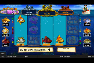 Reel em In Lobster Potty Mobile Slot Bonus Game