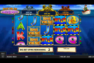 Reel em In Lobster Potty Mobile Slot Machine