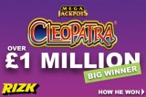 First Rizk Casino Jackpot Slot Millionaire On Megajackpot Cleopatra