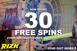 Get Your Rizk Casino Free Spins Every Day In September