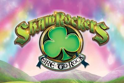 Shamrockers Mobile Slot Logo