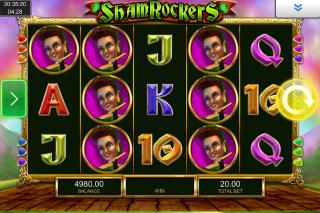 Shamrockers Mobile Slot Machine