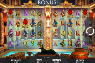Temple of Luxor Mobile Slot Bonus