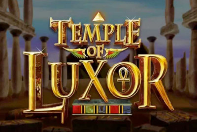 Temple of Luxor Mobile Slot Logo
