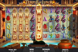 Temple of Luxor Mobile Slot Wild Win