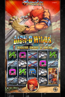 Thundercats Mobile Slot Machine Lion-O