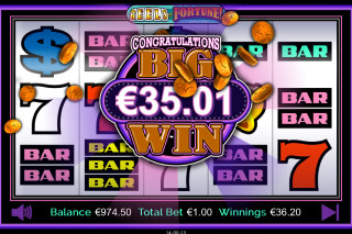 Triple Play Reels of Fortune Mobile Slot Big Win