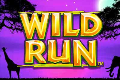 Wild Run Mobile Slot Logo