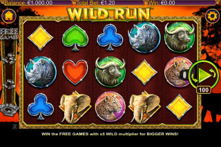 Wild Run Mobile Slot Machine