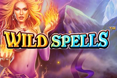 Wild Spells Mobile Slot Logo