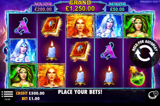 Wild Spells Mobile Slot Machine