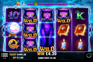 Wild Spells Mobile Slot Wilds Win