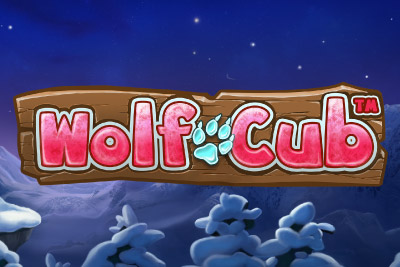 Wolf Cub Mobile Slot Logo