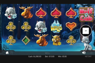 Wolf Cub Mobile Slot Touch