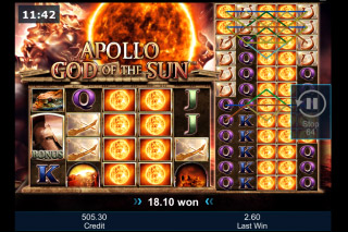 Apollo God Of The Sun Mobile Slot Colossal Reels