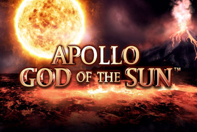 Apollo God Of The Sun Mobile Slot Logo