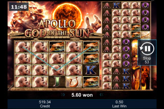 Apollo God of the Sun Slot - Play for Free Online Today