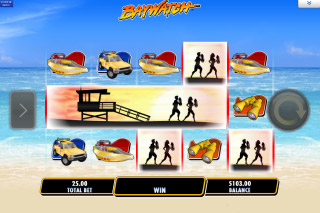 Baywatch Mobile Slot Bonus