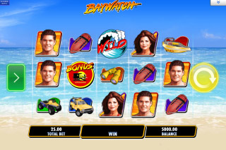 Baywatch Mobile Slot Machine