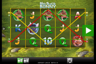 Big Buck Bunny Mobile Slot Machine
