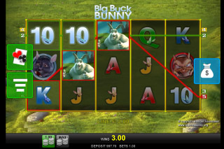 Big Buck Bunny Mobile Video Slot