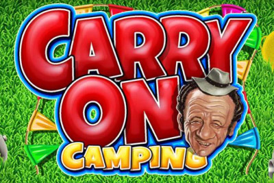 Carry On Camping Mobile Slot Logo
