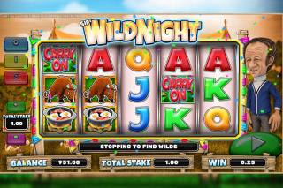 Carry On Camping Mobile Slot Wild Night