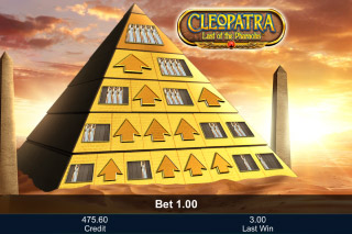 Cleopatra Last Of The Pharaohs Mobile Slot Bonus Pyramid