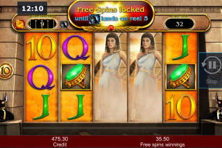Cleopatra Last Of The Pharaohs Mobile Slot Free Spins