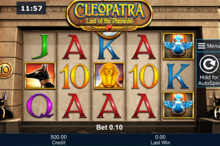 Cleopatra Last Of The Pharaohs Mobile Slot Machine