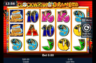 Clockwork Oranges Mobile Slot Machine