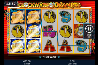 Clockwork Oranges Mobile Slot Win