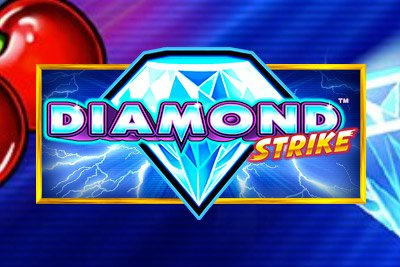 Diamond Strike Mobile Slot Logo