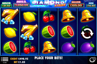 Diamond Strike Mobile Slot Machine