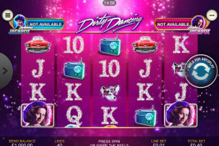 Dirty Dancing Mobile Slot Machine