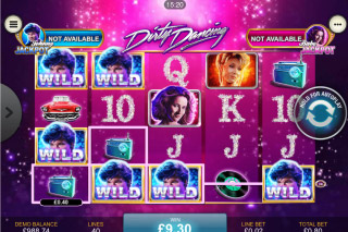 Dirty Dancing Mobile Slot Wilds